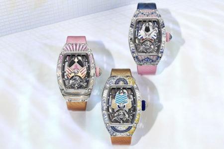 煌びやかな宝石を纏ったお守りウォッチがリシャール・ミルから発売
